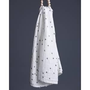 Lange Coton Mousseline Bio Stars - Wee Gallery -