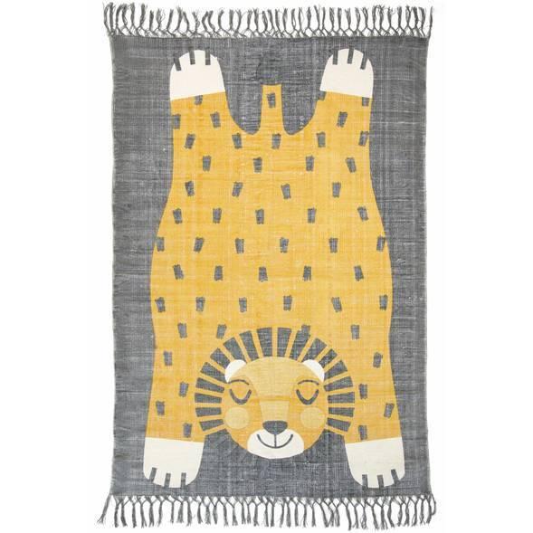 Tapis Baba en coton (170 x 110 cm)