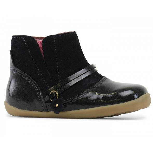 "Bottines en cuir Step Up ""Rule"" Midnight Gloss"