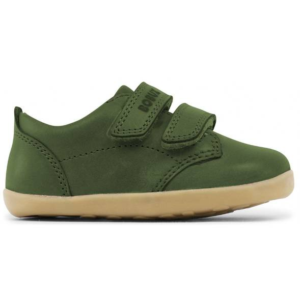 "Chaussures en cuir Step Up ""Swap"" Vert Army"