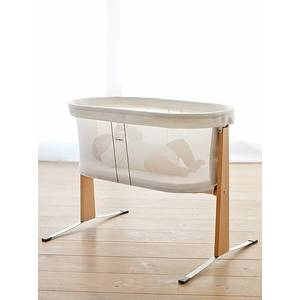 Berceau bébé nouveau né en bois - blanc - BabybJörn