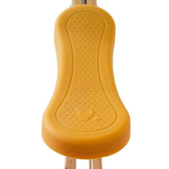 Protection de Selle pour draisienne Wishbone - jaune