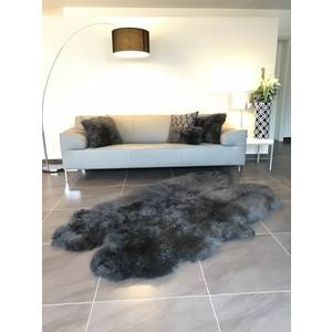 "Tapis en peau d'agneau ""Early Grey"" kaiser"