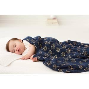 """Couverture de Rêve bébé en mousseline de coton """"Metallic Dandelion Gold"""" - Aden + Anaïs"""