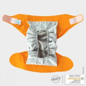 Culotte couche lavable Hamac Abricot