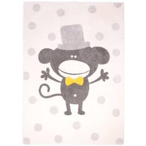 Tapis enfant Polka Monkey en polypropylène nattiot