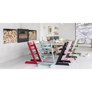 Chaise haute tripp trapp noyer - Stokke