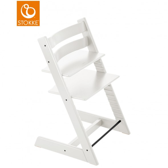"Chaise haute Tripp Trapp en bois ""Blanc"""