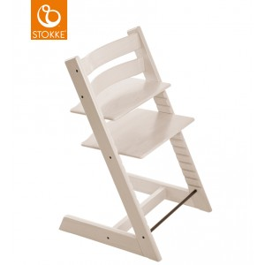 Chaise haute tripp trapp limited collection - blanchi - Stokke