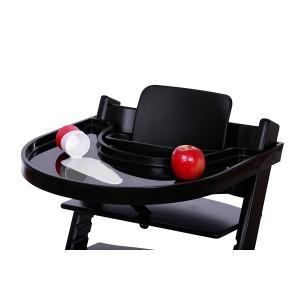 """Tablette pour chaise Tripp Trapp """"Noir"""""""