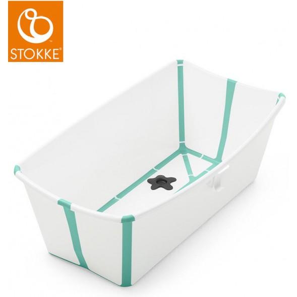 "Baignoire pliable Flexi Bath ""Blanc/Aqua"""
