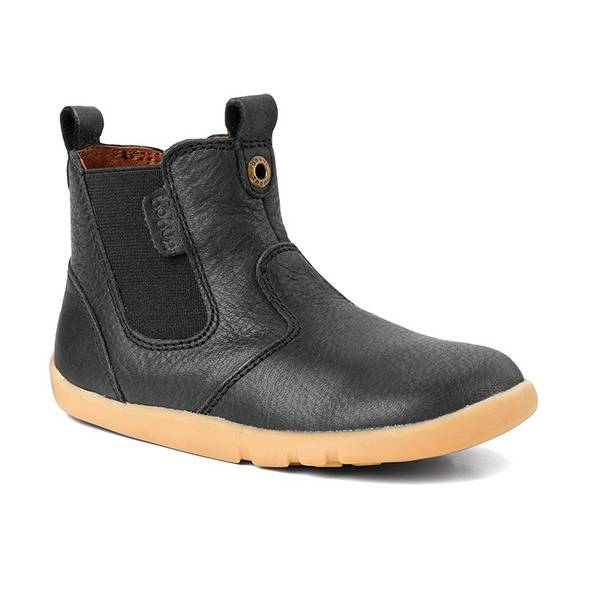 Bottines i walk outback - black - Bobux