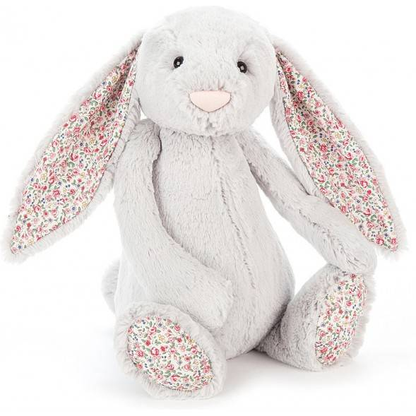 "Peluche Bashful Lapin ""Argent Blossom"" (36 cm)"