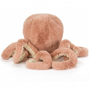 Peluche Poulpe Pieuvre Odell Octopus  (14 cm) Jellycat