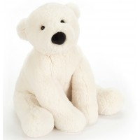 Peluche Perry l'Ours Polaire (36 cm)