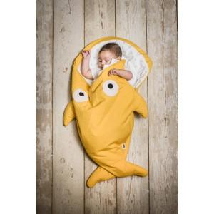 """Sac de couchage / Chancelière bébé Requin Hiver """"Moutarde / Chicks"""" BabyBites"""