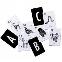 """Cartes d'apprentissage de l'alphabet """"Animaux"""""""