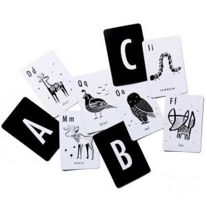 "Cartes d'Art ""Animal Alphabet"""