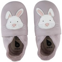 "Chaussons Soft Sole ""Lapin gris"""