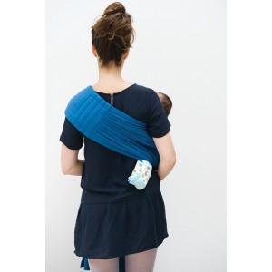 Echarpe de portage Bb sling - campanula blue - Babylonia