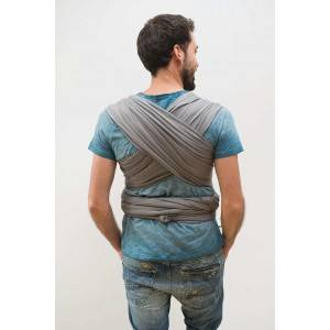 "Echarpe de portage Tricot-Slen Organic en coton bio ""Bleu Marine"" Babylonia"