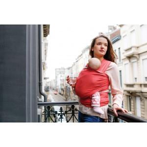 """Echarpe de portage Tricot-Slen Organic en coton bio """"Papaye"""" Babylonia"""