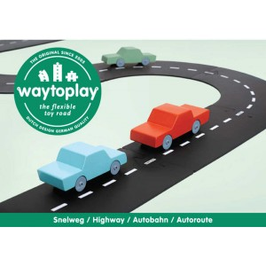 """Circuit flexible """"Highway"""" (24 pièces) Way to Play"""