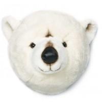 Trophée tête d'ours polaire - bibib&co -