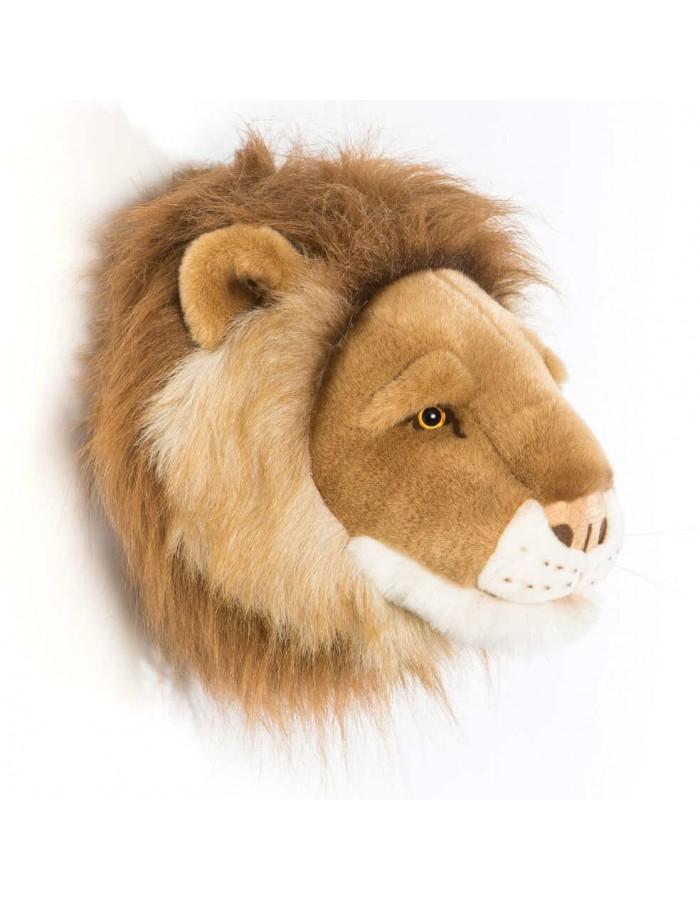 Trophée tête Cesar le Lion - Dröm Design