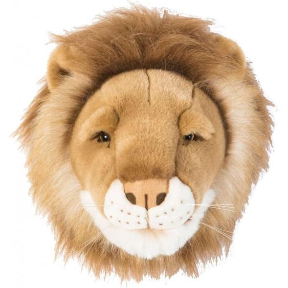 Trophée tête Cesar le Lion