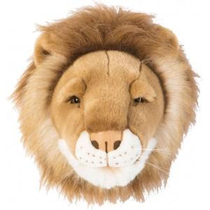 Trophée tête deco animal Cesar le Lion bibib & Co