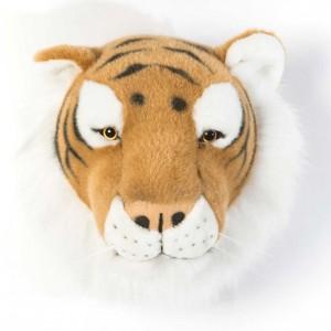 Trophée tête deco animal Felix le Tigre bibib & Co