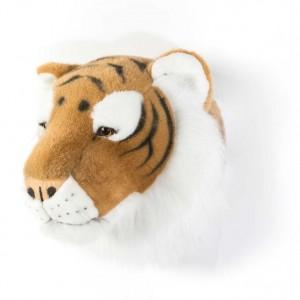 Trophée tête deco animal Felix le Tigre wild & soft