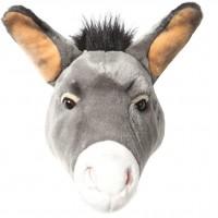 Trophée tête Francis l'âne