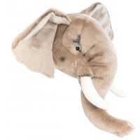 Trophée tête Georges l'Elephant