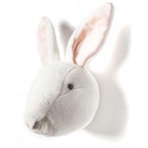 Trophée tête déco animal alice lapin bibib & co