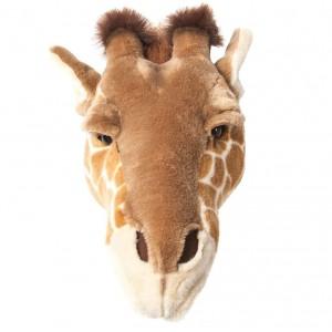 Trophée tête déco animal girafe bibib & co
