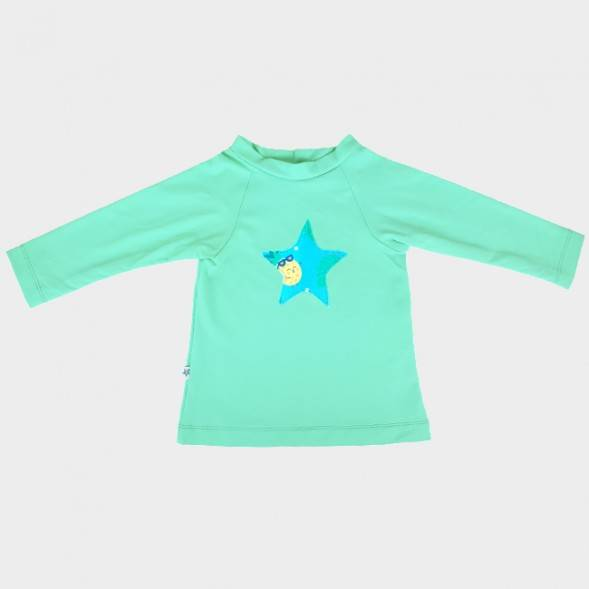 "T-Shirt bébé anti-UV Edition limitée ""Rock Ananas"""