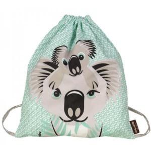 Rusksack enfant en coton bio Koala Coq en Pate