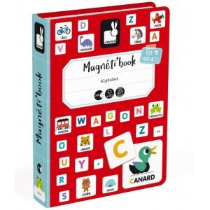 Jeu éducatif Magnéti'Book Alphabet Janod