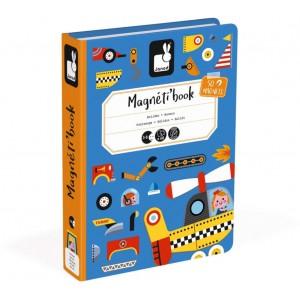 Jeu de voyage enfant Magnéti'Book Bolides Janod