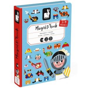 Jeu de voyage enfant Magnéti'Book Déguisements Janod