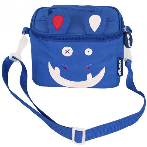 """Lunch-bag isotherme """"Hippipos l'Hippopotame"""""""