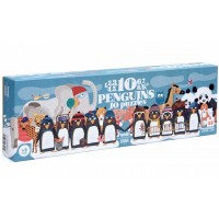 Puzzle 10 penguins - londji -