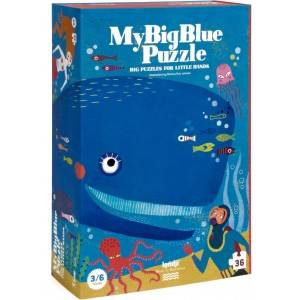 Puzzle my big blue - londji -