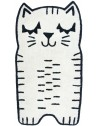 Tapis enfant chat Charlie en coton nattiot