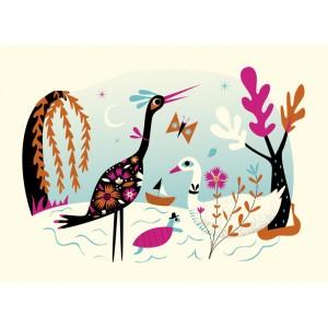 "Cartes postales ""Animal Rendez-vous"" (7 cartes + 7 enveloppes)"