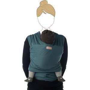 "Echarpe de portage ""tricot slen"" - Saphire - babylonia"