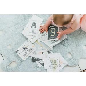 Milestone cartes bébé over the moon - milestone cards -