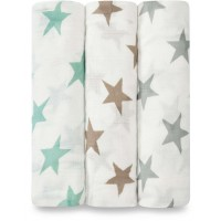 "Coffret de 3 maxi-langes en bambou ""Milky Way"""